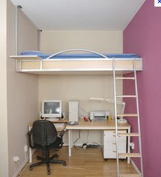 Small Mezzanine Bedroom Home Design