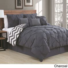 Avondale Manor Ella Pinch Pleat Reversible 7-piece Comforter Set - 16675730 - Overstock.com Shopping - Great Deals on Avondale Manor Comforter Sets