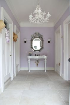 Lavender and grey bathroom appealing purple gallery best inspiration home gray accessories lilac decor color schemes . Lavender Bathroom, Gray Bathroom Decor, Grey Bathrooms, Bathroom Ideas, Master Bathroom, Bathroom Purple, Lavender Walls, Neutral Bathroom, Bathroom Stuff