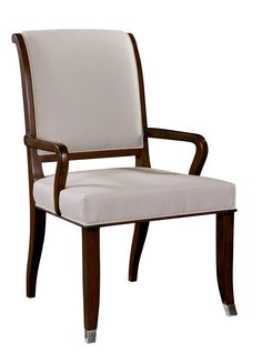 Arm Chair in Walnut | Maitland-Smith | Home Gallery Stores