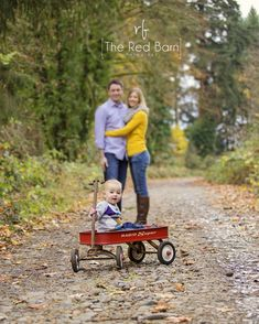 family of three family baby and family Portland Family Portrait Photographer ~ Fabulous Fall! » the red barn photography