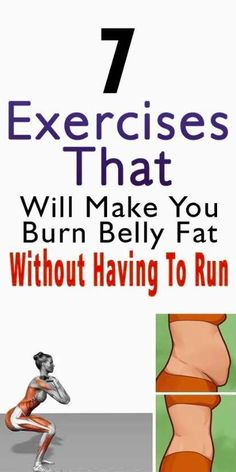 7 Exercises That Will Make You Burn Belly Fat Without Having To Run!! – The Duck & The Fox