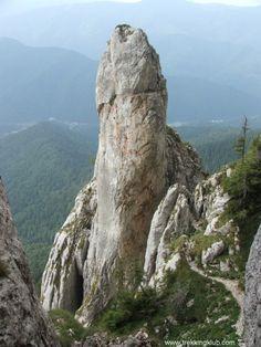 Degetul lui Anghelide - Anghelide's finger - #Piatra_Craiului_mountains, Transylvania