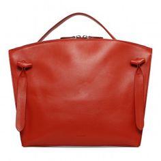 ddc92877578 Red Hill Medium Bag Portemonnees En Handtassen, Lederen Handtassen, Oranje  Tas, Handtassen,