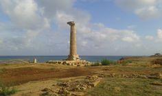 Colonna superstite del Tempio di Hera Lacinia
