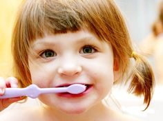 'My toddler fusses and clamps his mouth shut when i try to brush his teeth. It's his mouth, and he's letting you know that he doesn't appreciate your intrusion into it. Parenting Articles, Kids And Parenting, Parenting Hacks, Healthy Teeth, Healthy Kids, Toddler Fun, Toddler Activities, Toddler Teeth Brushing, Making Life Easier