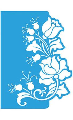 Litoarte Stencil Patterns, Stencil Art, Stencil Designs, Flower Stencils, Kirigami, Motifs Islamiques, Paper Art, Paper Crafts, Silhouette Portrait