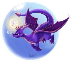 Spyro the Dragon by Cryptid-Creations.deviantart.com on @deviantART