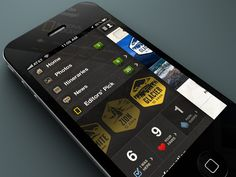 National Parks by National Geographic for iPhone by Ben Cline, via Behance
