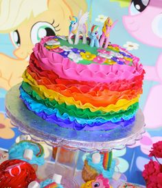 A Rainbow Dash Inspired Birthday Party ~ Kroma Design Studio | Custom Party Stationary and Ideas for the Hostess