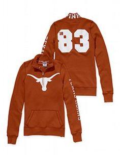 f86b37ce927e9 University of Texas Bling Half-Zip Pullover. Ohhh ssss'cute | Dress ...