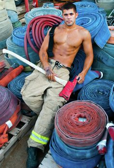 ... Firefighters on Pinterest   Firemen, Fire Fighters and Hot Firemen