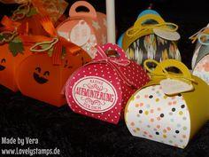 Zierschachtel für Andenken Curvy Keepsake boxen Kürbis Halloween