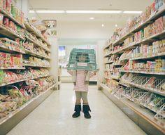 """NAGANO TOYOKAZU. """"Camouflage"""" from a serie """"My daughter Kanna"""". http://www.flickr.com/photos/toyokazu/6553712959/in/set-72157624017824772"""