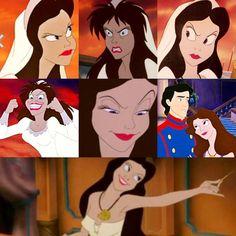 Vanessa/Ursula the Sea Witch Evil Villains, Disney Villains, Disney Pixar, Disney Fan Art, Disney Love, Ursula Human, Ursula Disney, Best Halloween Movies, Disney Renaissance