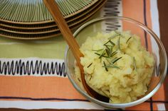 Olive Oil and Roasted Garlic Mashed Potatoes #Recipe