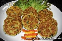 Hambúrguer Caseiro de Peixe » Peixes e Frutos do Mar, Receitas Saudáveis » Guloso e Saudável