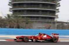 f1 Muy buena foto de la Ferrari F138 de Felipe Massa, el más rápido en la Práctica 1 en Bahréin ...