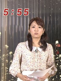 長野美郷 in めざましTV