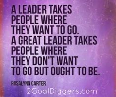 Leaders vs GREAT Leaders