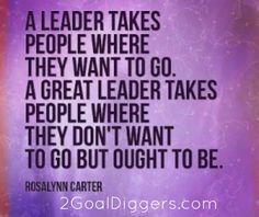 Leaders vs GREAT Leaders