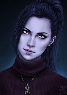 ArtStation - Overwatch - Widowmaker, Trixia Quinzon