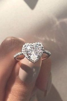 Halo Engagement Rings Or How To Get More Bling ❤︎ Wedding planning ideas & inspiration. Wedding dresses, decor, and lots more. #weddingideas #wedding #bridal