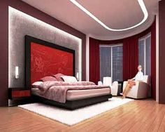 Interest Wall Colors For Bedrooms : Bedroom Colors Ideas Red Color ...