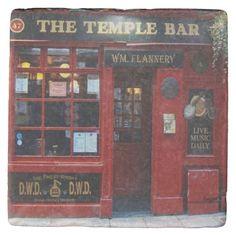 Irish Coasters, Gifts, Images Of Ireland, Marble Coasters, Stone Coasters, Golden Retriever Gifts, Images Of Ireland, Temple Bar, Custom Coasters, Dublin Ireland, Hostess Gifts, Painted Rocks