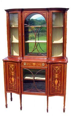 Edwardian Cabinets.