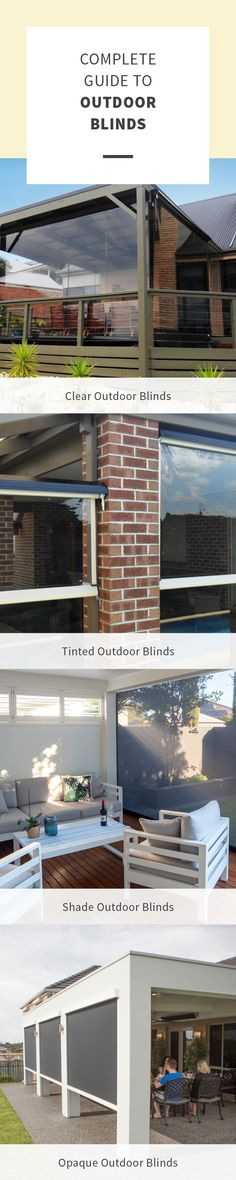 Outdoor Blinds, Be Perfect, Pergola, Patio, Home, Outdoor Pergola, Ad Home, Homes, Haus