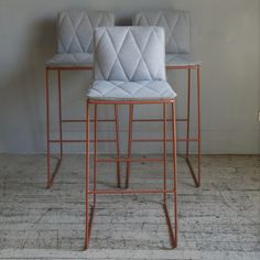 Love the colour, style and look of these bar stools by Jardan - we have 3 in store ready for your kitchen this weekend.... #jardan #furniture