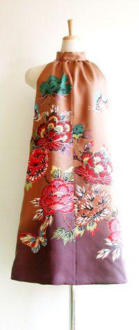 着物リメイクの洋服・ワンピース・ドレスの作り方(リホーム リフォーム 型紙 ブログ 画像 本 - NAVER まとめ                                                                                                                                                      もっと見る