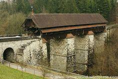 Rothenburg, Luzern Covered Bridges, Kirchen, House Styles, Decor, Lucerne, Communities Unit, Decoration, Covered Decks, Decorating