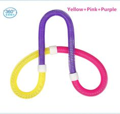 1.1KG, New Weighted Colorful Adult Soft Spring Hula Hoop For Weight Loss Fitness Equipment