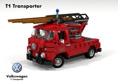 Volkswagen T1 Transporter Single Cab Fire Ladder
