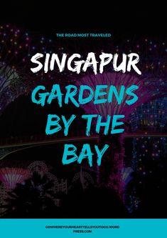 Die Gardens by the Bay sind kein Geheimtipp mehr, aber einen Besuch wert! Fühlt euch wie in der Welt von Avatar. #gardensbythebay #singapur #supertrees