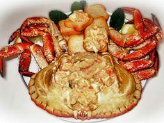 Sapateira Recheada - Dungeness Crab   Receitas e Sabores do Mundo