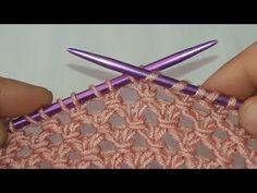 Baby Sweater Knitting Pattern, Loom Knitting Patterns, Knitting Videos, Knitting Charts, Hand Knitting, Irish Crochet Tutorial, Diy Crafts Knitting, Filet Crochet, Knit Crochet