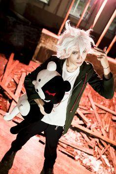 Yuen(Yuen) Nagito Komaeda Cosplay Photo - WorldCosplay