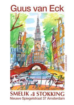 Artist: Guus van Eck Amsterdam, NL poster.