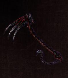 Demon Lords War Scythe by ShadowDragon22.deviantart.com on @DeviantArt