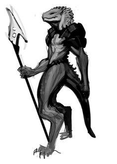 lizardman 2 by Makkon