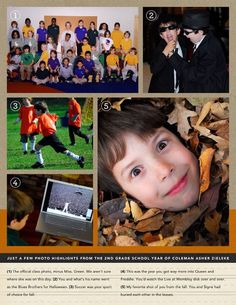 Digital Elementary Scrapbook