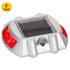 Back To Search Resultssecurity & Protection Devoted Aluminum Waterproof Led Solar Powered Road Stud Light Reflective Ground Path Deck Dock Warning Light Family Road Decoration Road Stud