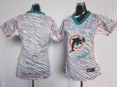 Cheap NFL Miami Dolphins blank women zebre jerseys (44214) Wholesale | Wholesale Nike Elite Women jersey , sales promotion  $21.99 - www.hatsmalls.com