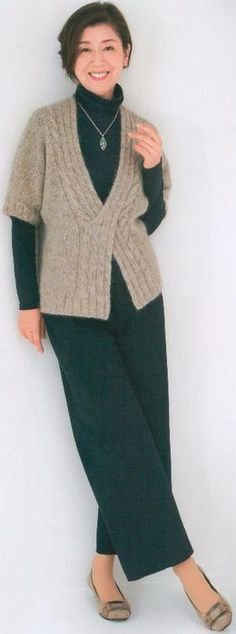 Gradient Baby Vest Making, Knitting women vest patterns knitting baby vest samples # crochet # vest. Skirt Pattern Free, Vest Pattern, Knitting Patterns Free, Baby Knitting, Lidia Crochet Tricot, Baby Pullover, Baby Scarf, Bikini Pattern, Knit Skirt