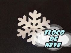 DIY.: Floco de Neve - YouTube