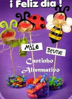 Lembrancinhas Para o Dia das Crianças - Blog Cantinho Alternativo