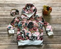 Star Wars pink kids hoodie preorder, Floral Wars, star wars baby clothes, geeky baby clothes, custom kids clothing by SorcerersSewn on Etsy https://www.etsy.com/listing/570154997/star-wars-pink-kids-hoodie-preorder